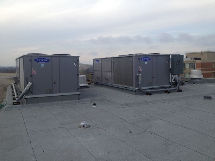 Carrier Heating/Cooling Units